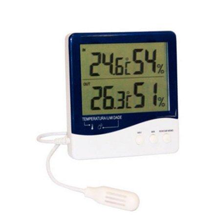 Termo-Higrômetro Digital Incoterm 7664 - com cabo extensor