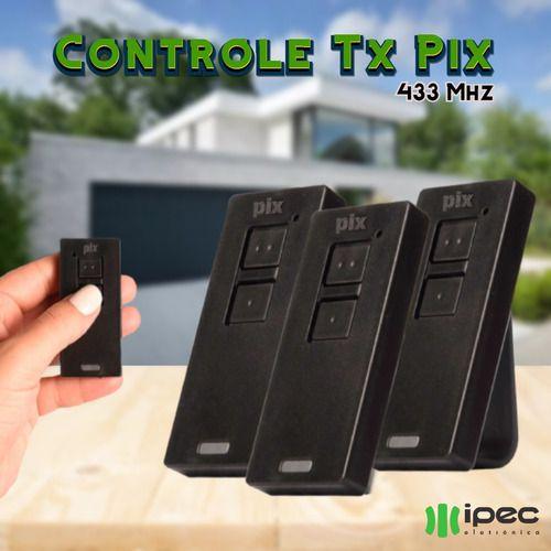 Kit 3 Controle Remoto Portão Universal Ppa Rcg Garen 433mhz