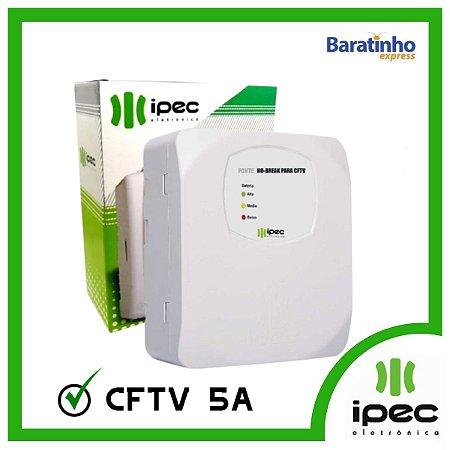 Fonte Carregadora No Break para CFTV 5A Ipec