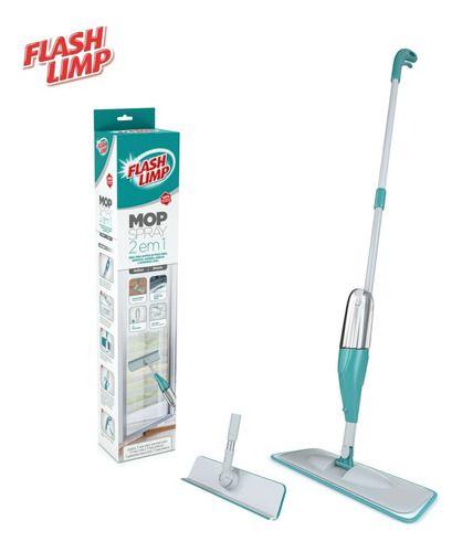 Spray Mop Mágico C/ Reservatório Flash Limp 2 Em 1