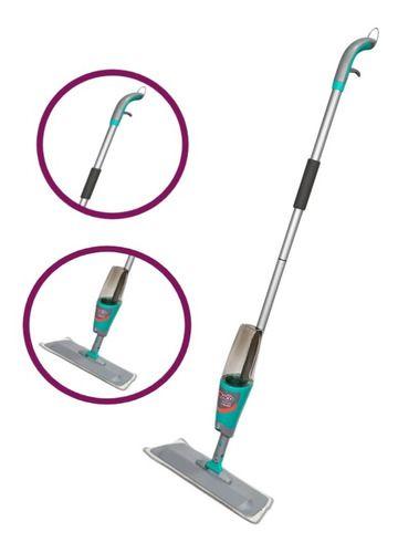 Spray Mop Mágico Com Reservatório Refil Microfibra Noviça