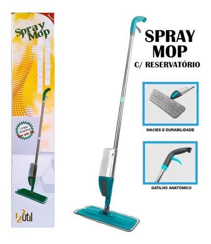 Spray Mop Mágico Com Reservatório Refil Microfibra 123 Util