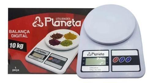 Balança Digital Eletrônica De Precisão 10kg Dieta E Cozinha
