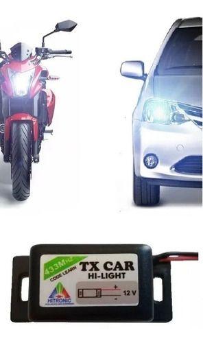 Controle Portão Tx Car À Prova De Água 433,92 Mhz Code Learn
