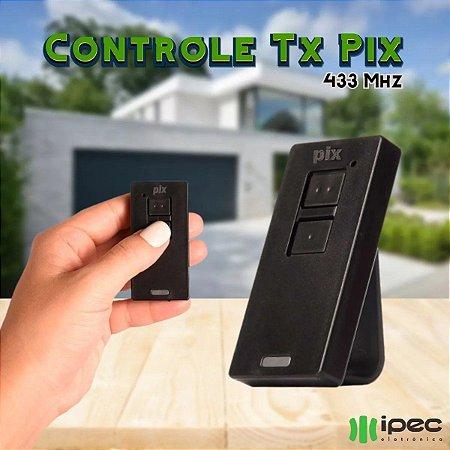Controle Remoto Ppa Zap Portão Eletrônico Tx Pix 433mhz Ipec