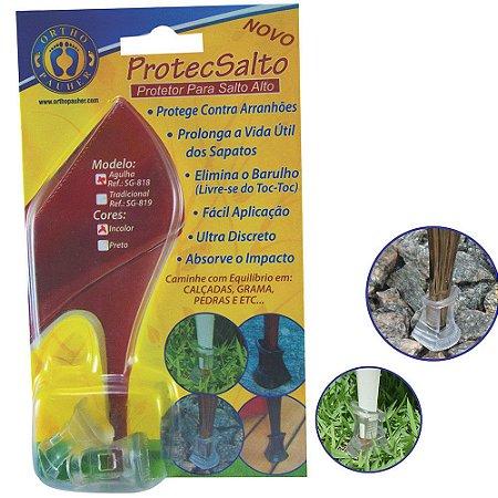 Protetor Para Salto Alto Agulha Sg-818 Orthopauher Incolor