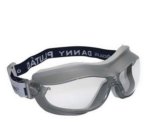 Óculos De Proteção Ampla Visão Plutão Danny Ca14883 Da15600