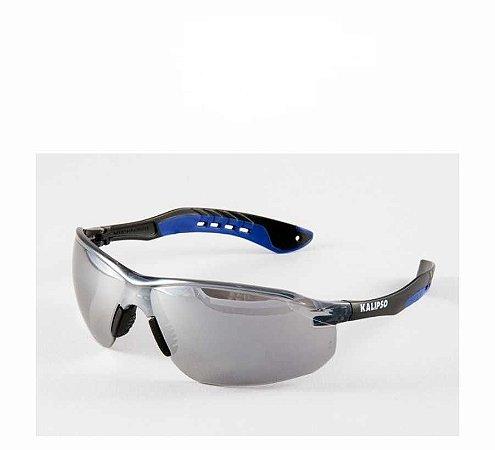 Óculos De Segurança Kalipso Jamaica Incolor Espelhado