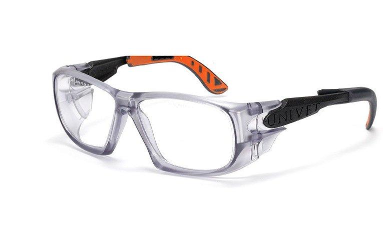 Armação Óculos Segurança P/ Lente De Grau Univet 5x9 Epi