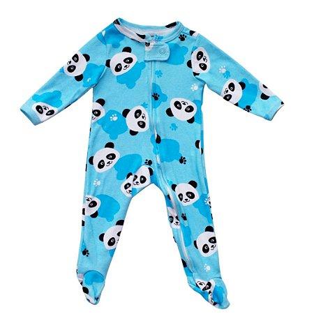 Macacão ML Panda Turquesa