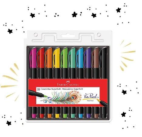Brush Pen 10 Cores Faber-castell