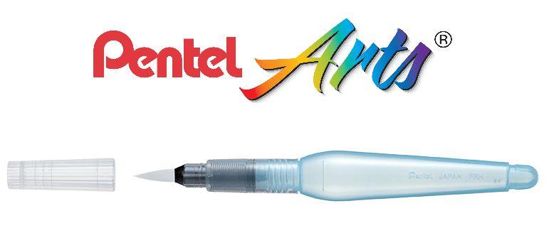 Pincel De Água P/ Aquarela Pentel- Aquash Brush Ponta Media