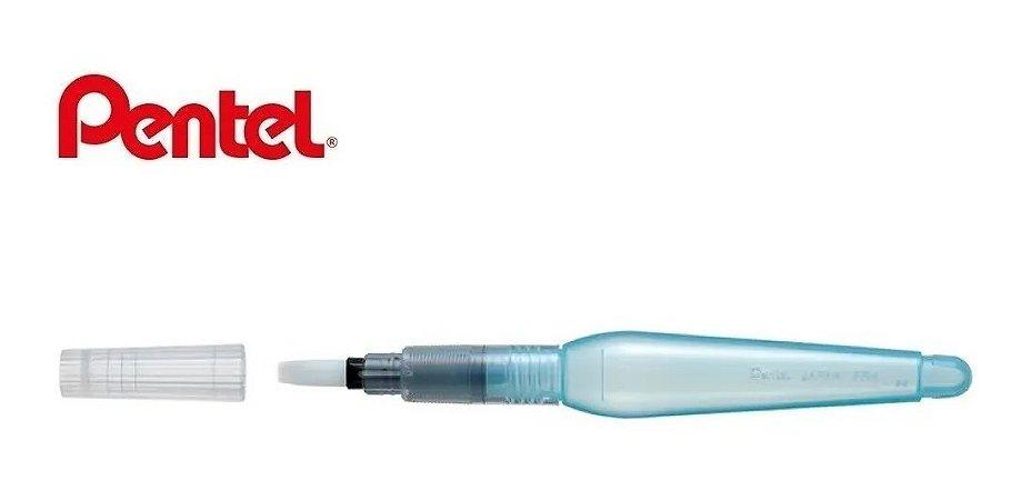 Pentel Pincel De Água P/ Aquarela Aquash Brush Chanfrado
