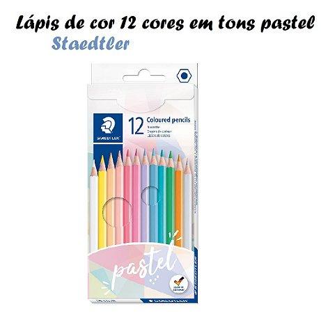 Lápis De Cor Estojo C/12 Cores Pastel Staedtler