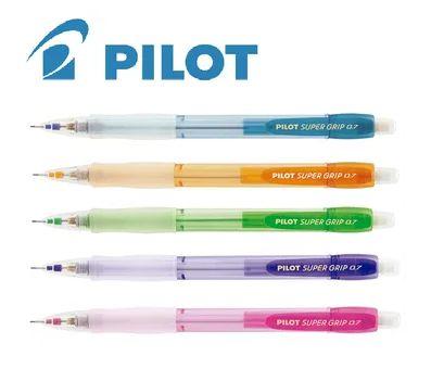 Lapiseira Pilot Super Grip H-187-N Neon 0,7mm - A escolha