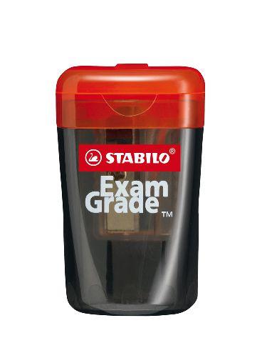 Apontador com Deposito Stabilo Exam Grade Preto