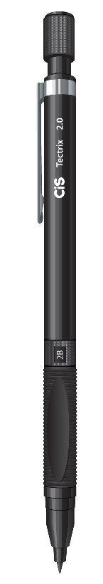 Lapiseira Escolar Tectrix 2.0mm Preta Cis