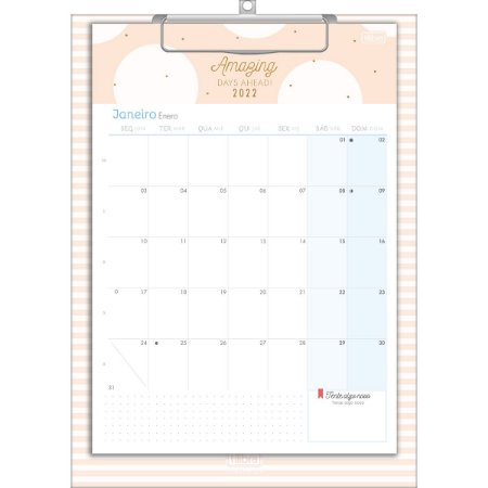 Calendario Planner Prancheta SOHO Tilibra