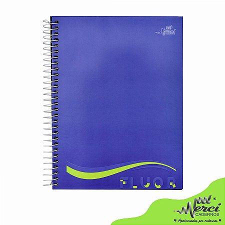Caderno Esp. Colegial 1 matéria 80 Fls Fluor Merci Capa 01