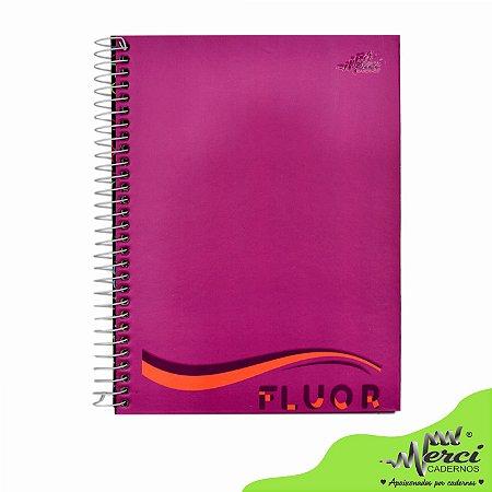 Caderno Esp. Colegial 1 matéria 80 Fls Fluor Merci Capa 02