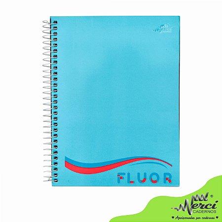 Caderno Esp. Colegial 1 matéria 80 Fls Fluor Merci Capa 08