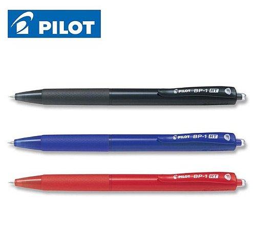 Caneta Esferográfica Pilot BP-1 RT-F - A escolha