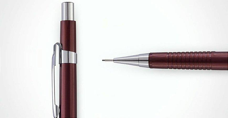 Lapiseira Tecnica 0,3mm  Bordô - BRW