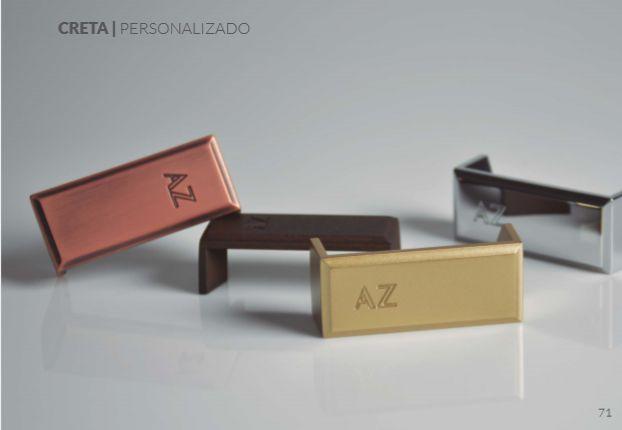 Puxador Zen linha Creta (liso / personalizado)
