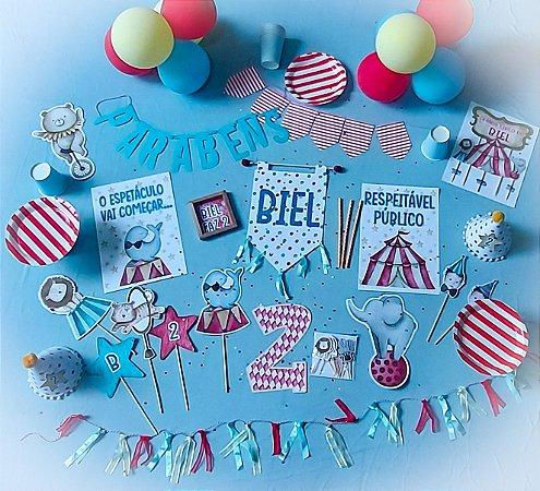 festa na caixa aniversario infantil tamanho G