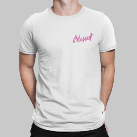 Camiseta Masculina - Blessed
