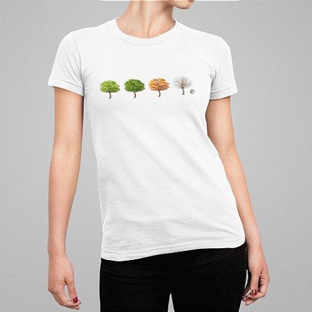 Camiseta Feminina - Ciclo da Vida