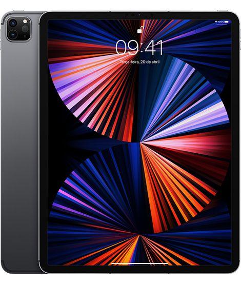 iPad Pro de 12,9 polegadas 2021 (Wi-Fi, 256 GB) - Cinza espacial