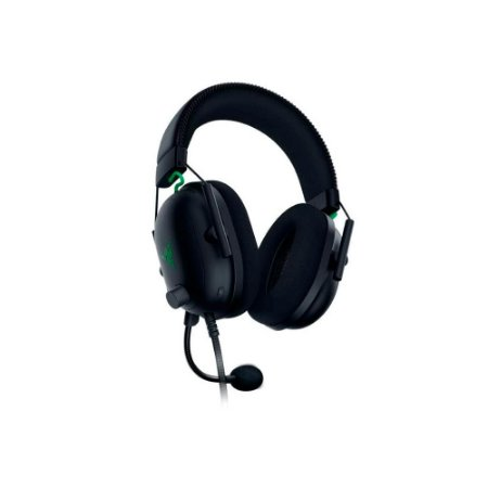 Razer Fone de ouvido para jogos BlackShark V2 X: Som surround 7.1 - Drivers de 50 mm - Almofada de espuma de memória - PC, PS4, PS5, Nintendo Switch, Xbox One, Xbox Series X e S, Mobile - Entrada de áudio de 3,5 mm - Preto (Encomenda, 10 Dias úteis)