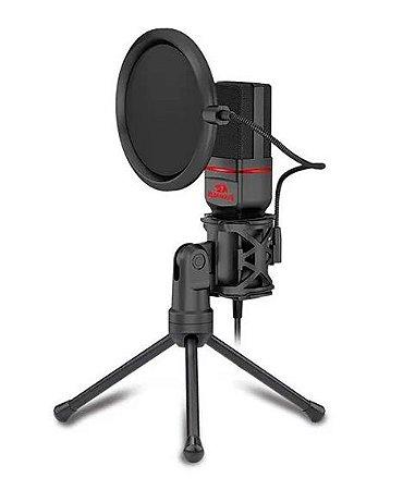 Microfone Condensador Redragon GM100 Seyfert Omni (PRONTA ENTREGA, 2 Dias úteis)