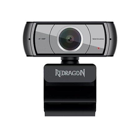 Webcam REDRAGON GW900 APEX HD 1920x1080P 60 FPS(PRONTA ENTREGA, 2 Dias úteis)