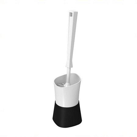 Suporte Porta Escova Sanitária Vaso Privada Limpeza Banheiro Square - 10423 Coza