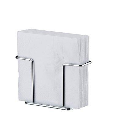 Porta Guardanapos Pequeno em Aço Cromado 1155 - Future