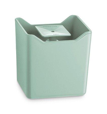 Dispenser De Pia Porta Detergente Líquido Esponja Cozinha Premium - UZ357 Uz - Verde Menta