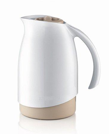 Bule Térmico Cuidar 700ml Garrafa Para Café Chá Leite - Sanremo - Branco