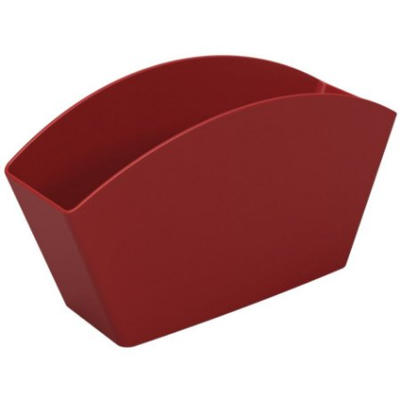 Escorredor Separador Porta Talheres Organizador De Pia Cozinha - 10830 Coza - Vermelho