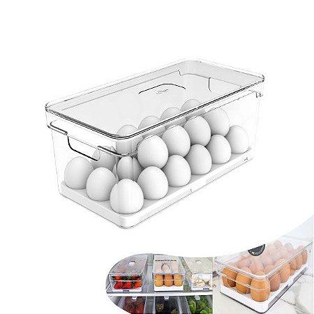 Organizador Porta Ovos Com Tampa Geladeira Life Fresh - OF 150 Ou