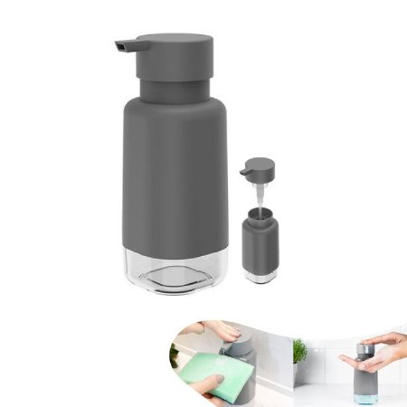 Dispenser Porta Detergente Líquido 500ml Pia Cozinha Trium - DP 500 Ou