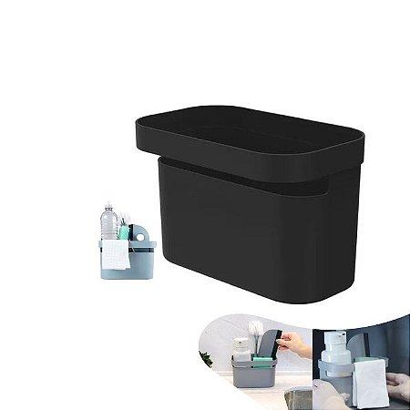 Organizador Porta Detergente Esponja Utensílios Cozinha Pia Bancada - OP 510 Ou