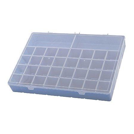 Box Organizador PLUS Caixa Maleta Com Divisórias Remédios - Paramount - Azul