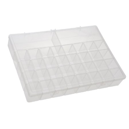 Box Organizador PLUS Caixa Maleta Com Divisórias Remédios - Paramount - Transparente