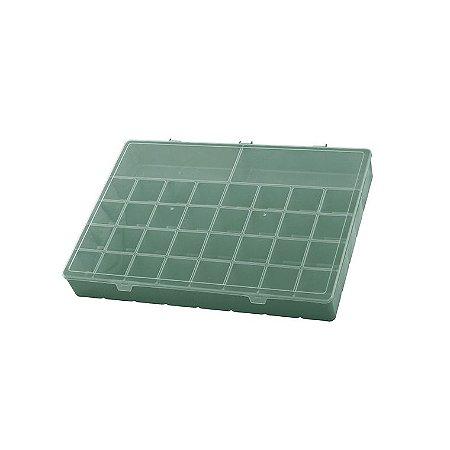 Box Organizador PLUS Caixa Maleta Com Divisórias Remédios - Paramount - Verde