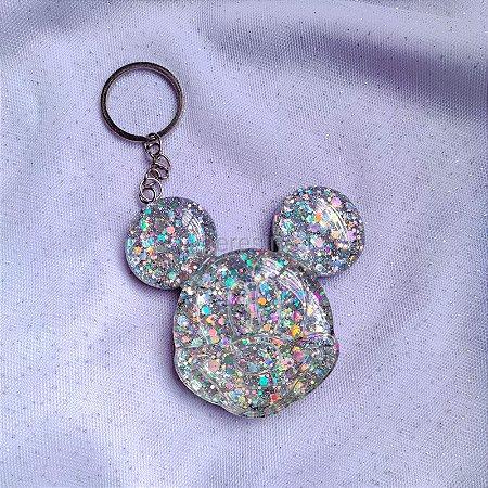 Chaveiro Mickey Glitters