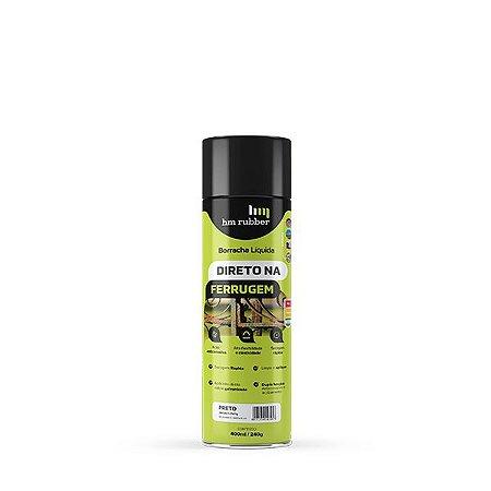 Spray Borracha Líquida Aerosol Hm Impertech 400ml Cinza