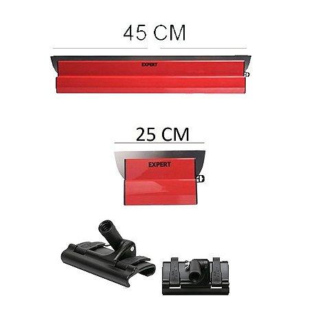 Kit Desempenadeira 45Cm - Expert Desempenadeira 25Cm - Suporte Com Rosca Para Desempenadeira Premium