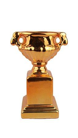 Enfeite Pequeno Troféu Bronze
